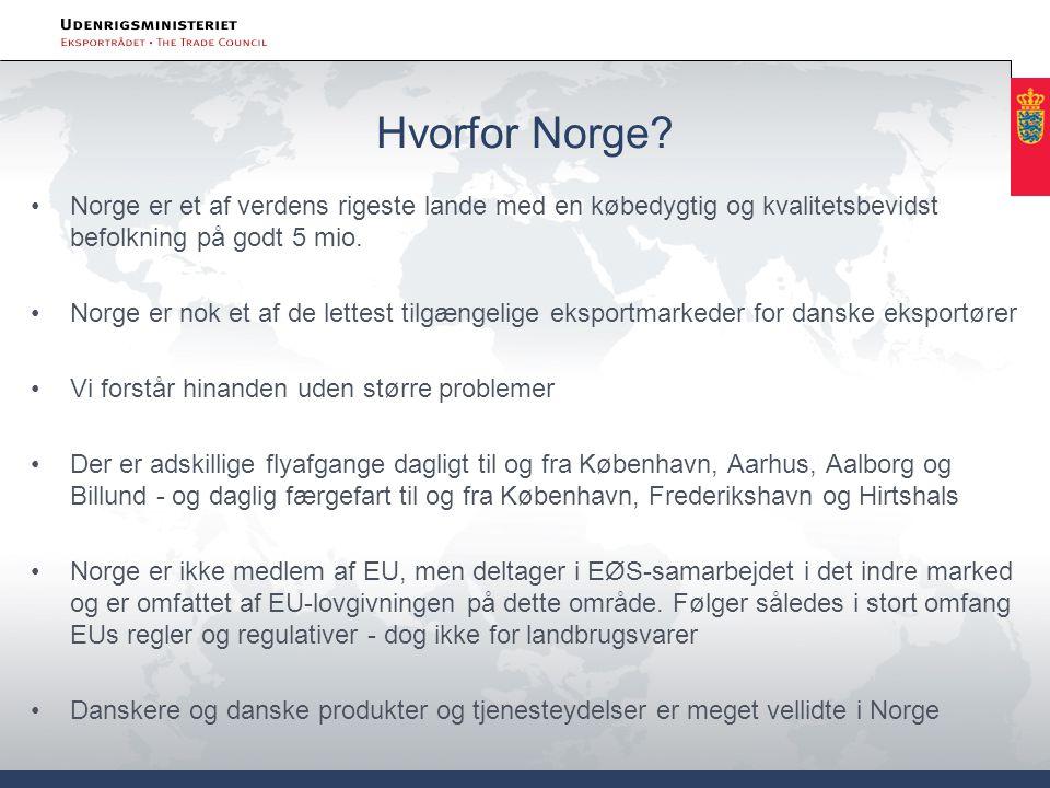 Hvorfor Norge.