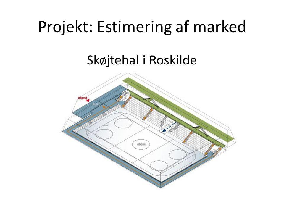 Projekt: Estimering af marked Skøjtehal i Roskilde