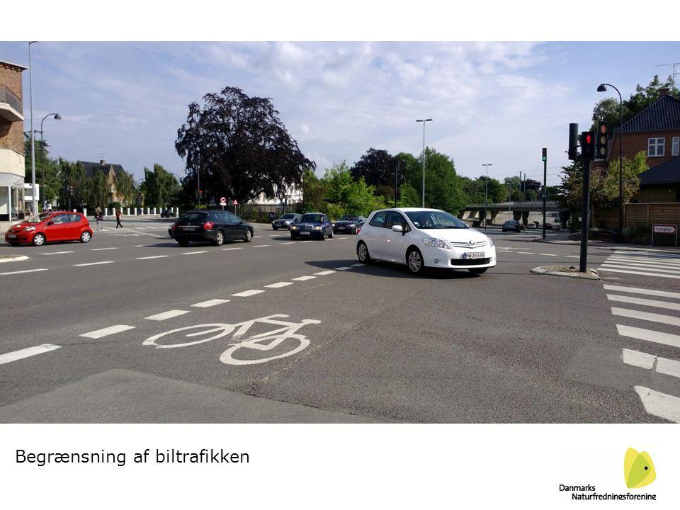 Begrænsning af biltrafikken
