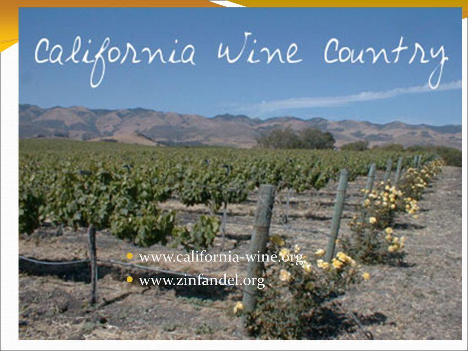 www.california-wine.org  www.zinfandel.org