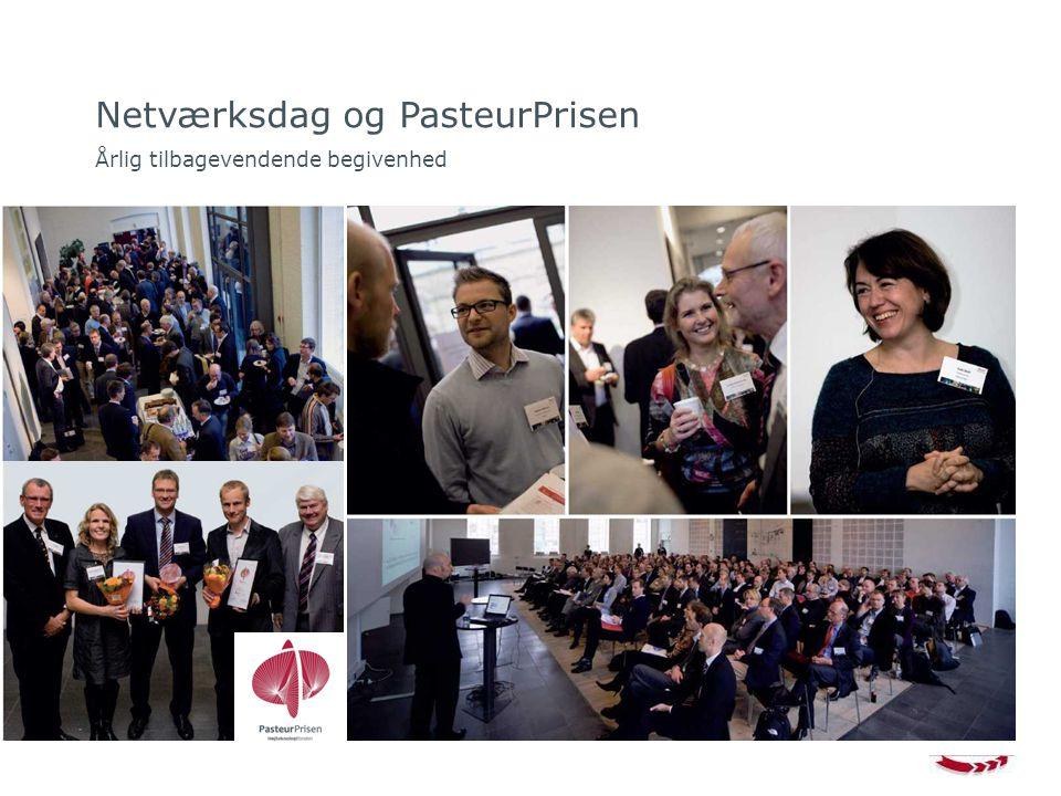 Netværksdag og PasteurPrisen Årlig tilbagevendende begivenhed