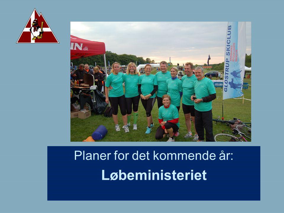Planer for det kommende år: Løbeministeriet