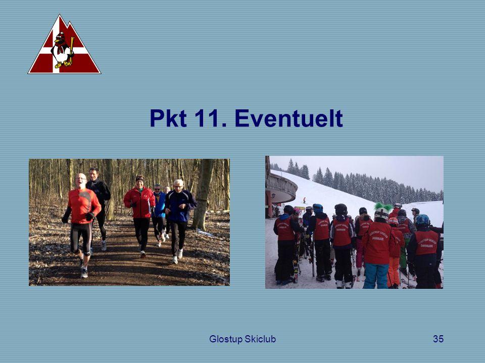 Pkt 11. Eventuelt Glostup Skiclub35