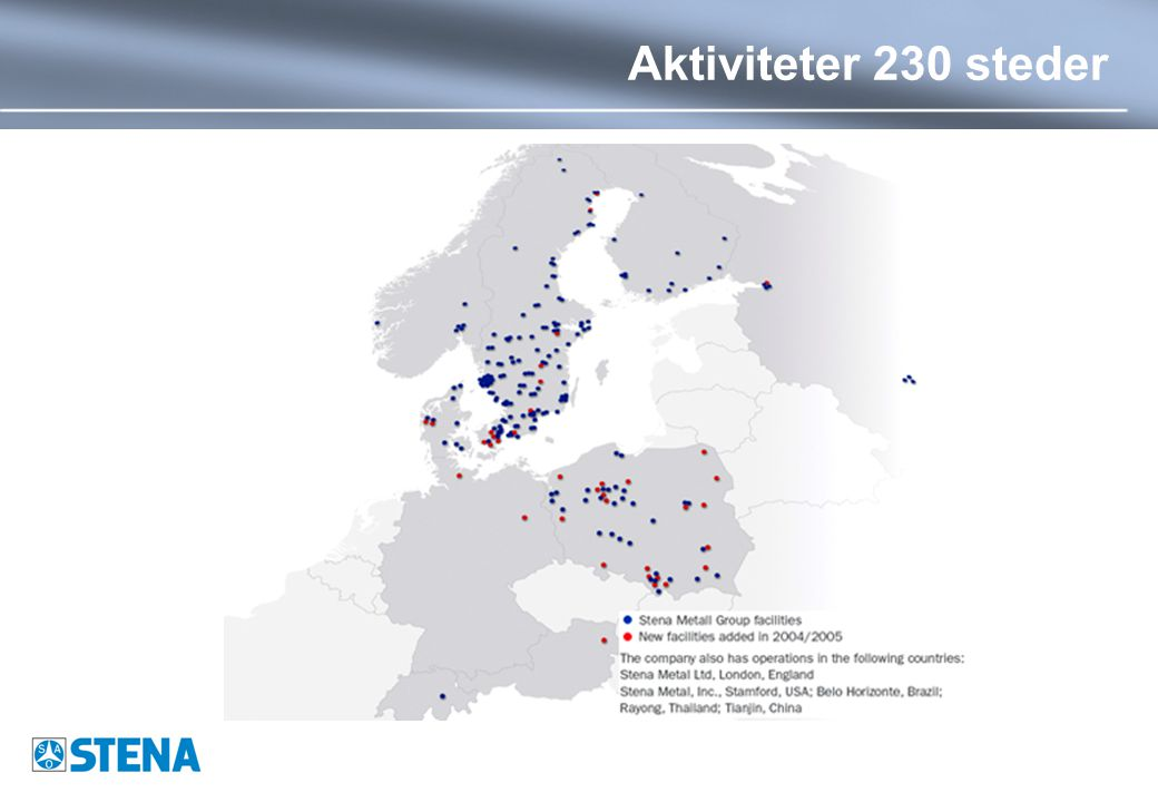 Aktiviteter 230 steder
