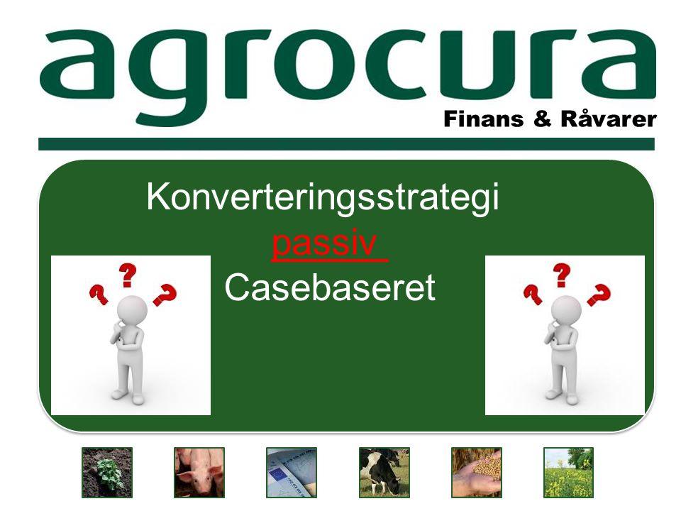 Finans & Råvarer Konverteringsstrategi passiv Casebaseret