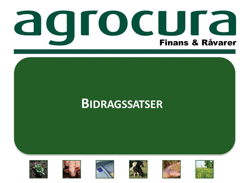 Finans & Råvarer B IDRAGSSATSER Finans & Råvarer