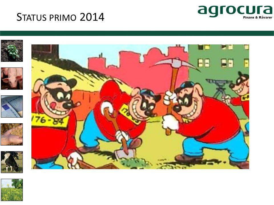 Finans & Råvarer S TATUS PRIMO 2014