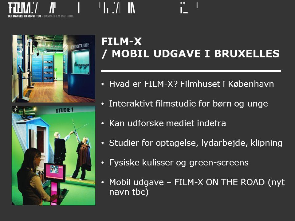 FILM-X / MOBIL UDGAVE I BRUXELLES • Hvad er FILM-X.