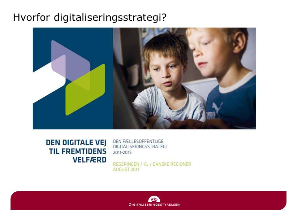 Hvorfor digitaliseringsstrategi