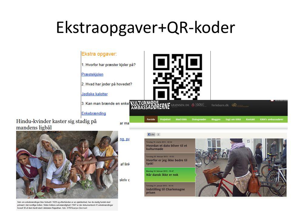 Ekstraopgaver+QR-koder