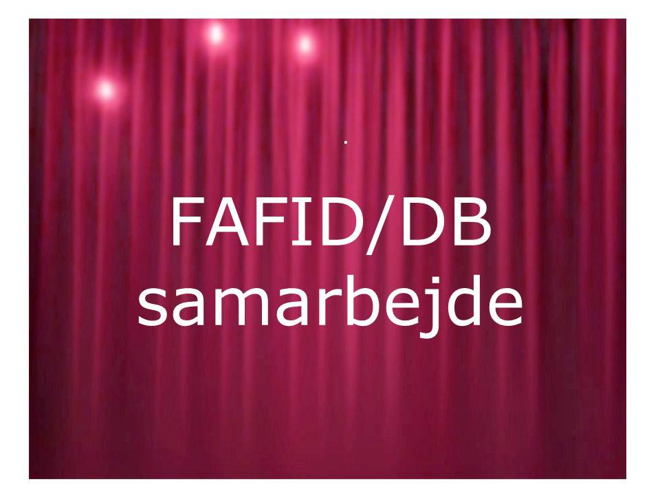FAFID/DB samarbejde.