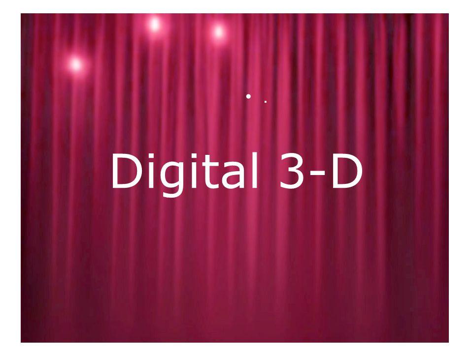 Digital 3-D •.•.