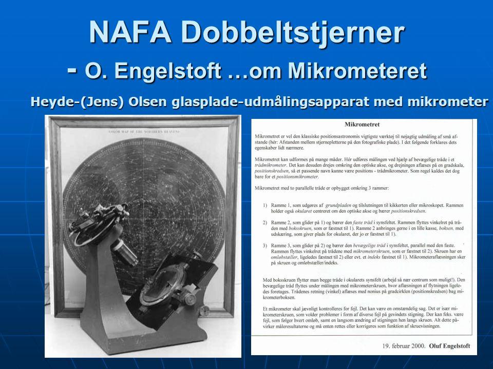 NAFA Dobbeltstjerner - O.
