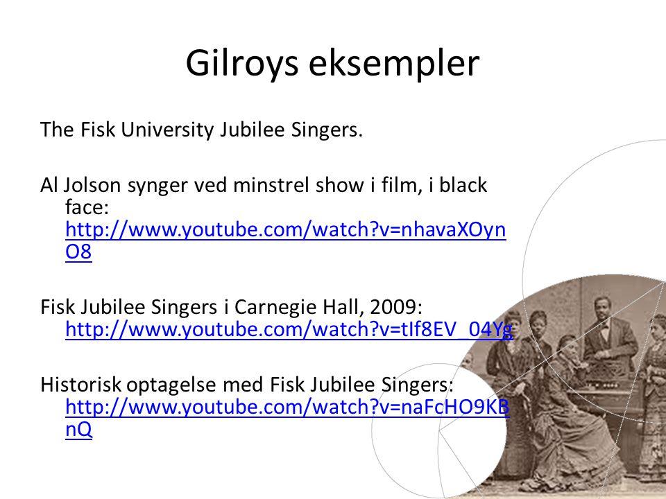 The Fisk University Jubilee Singers.
