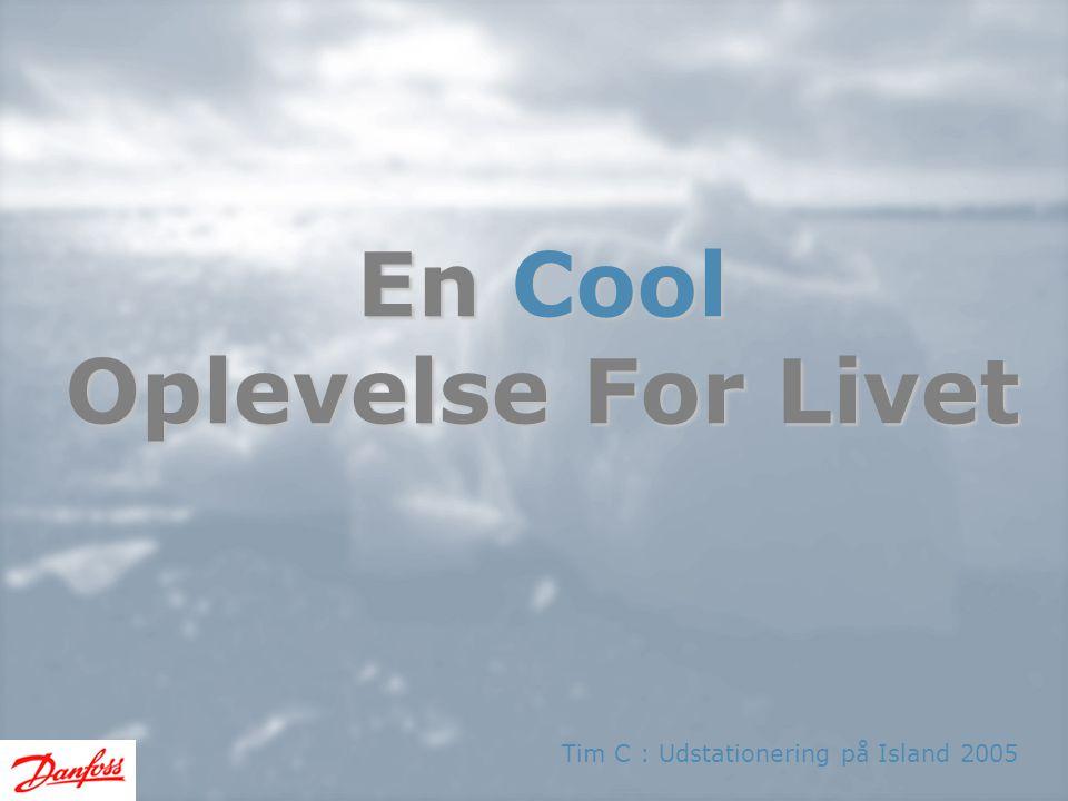 En Cool Oplevelse For Livet Tim C : Udstationering på Island 2005