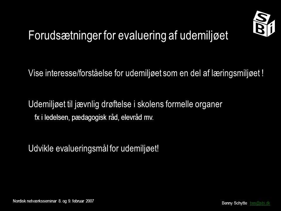 Nordisk netværksseminar 8. og 9.