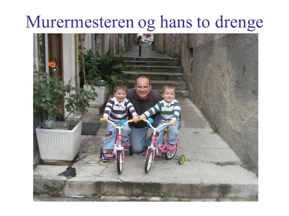 Murermesteren og hans to drenge