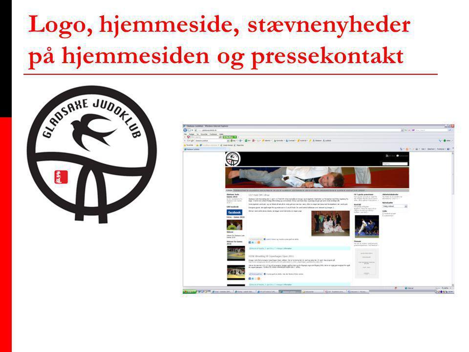 Logo, hjemmeside, stævnenyheder på hjemmesiden og pressekontakt N