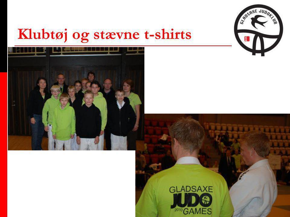 Klubtøj og stævne t-shirts
