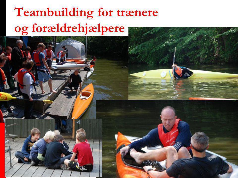 Teambuilding for trænere og forældrehjælpere Sommerafslutning