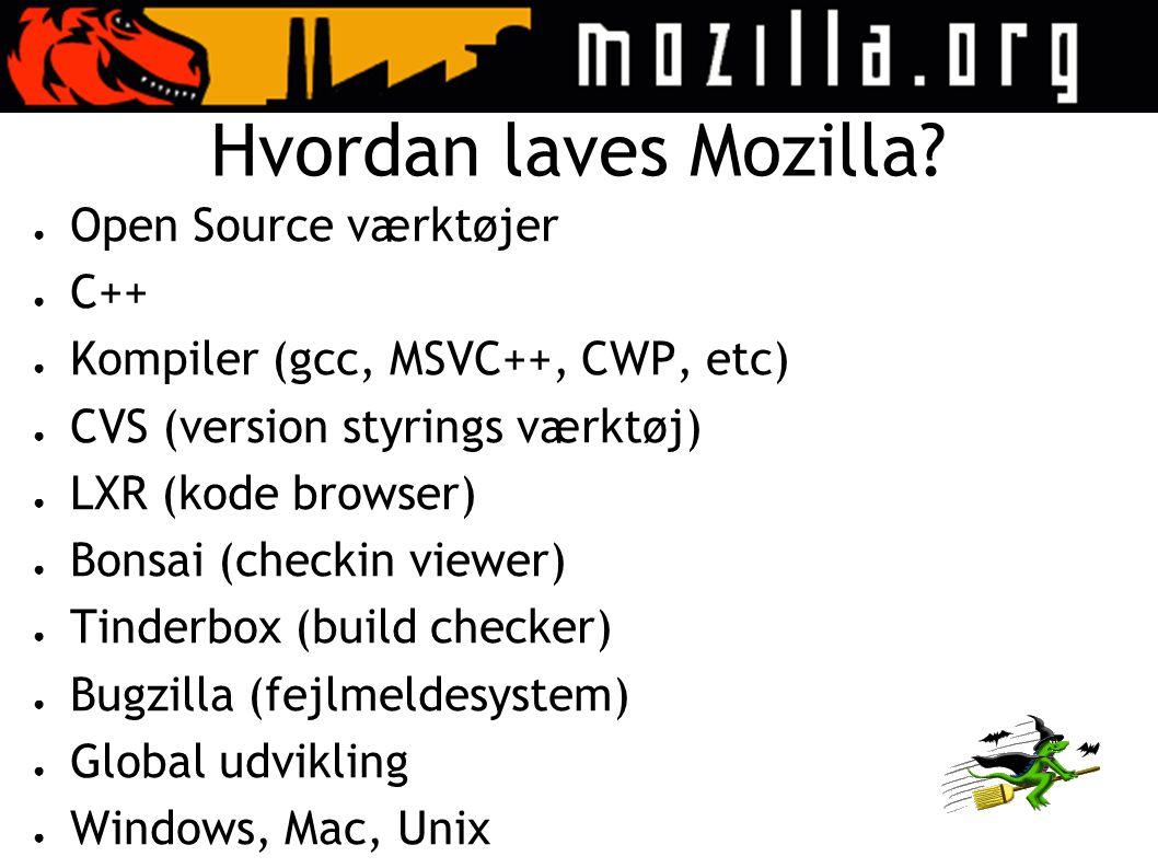 Hvordan laves Mozilla.
