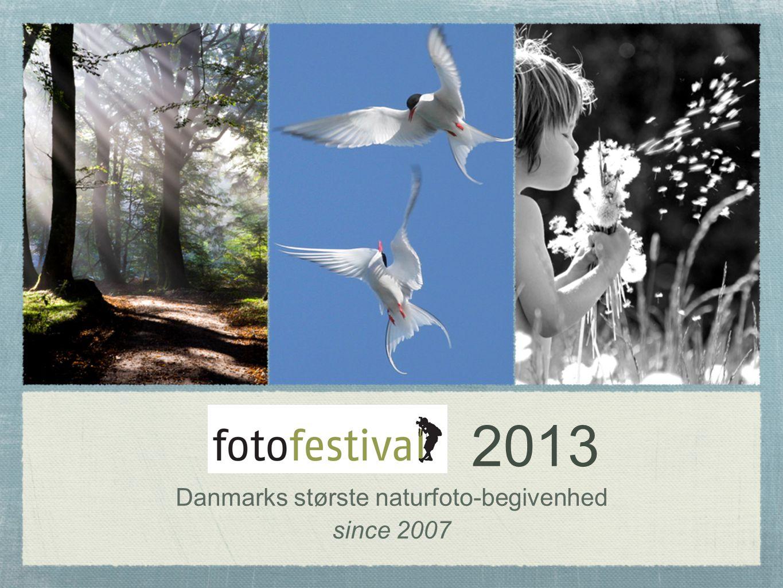 2013 Danmarks største naturfoto-begivenhed since 2007