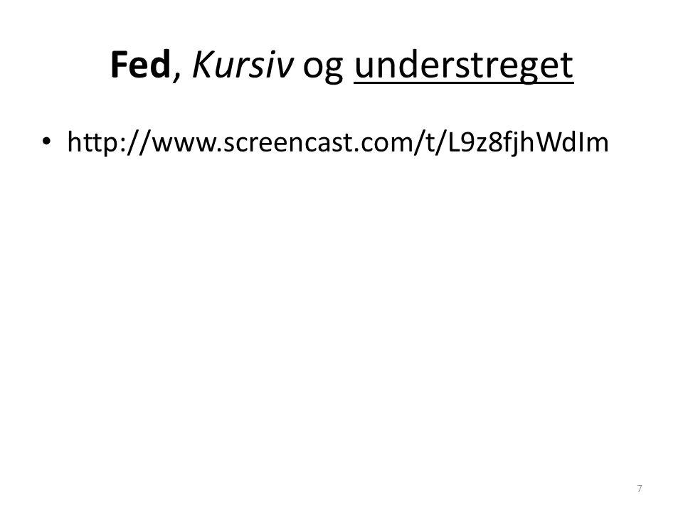 • http://www.screencast.com/t/L9z8fjhWdIm 7