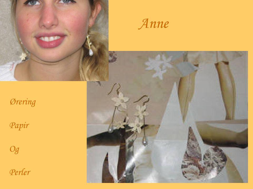 Anne Ørering Papir Og Perler