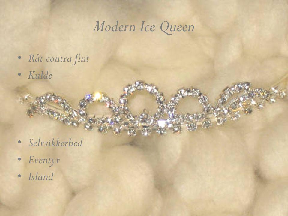 Modern Ice Queen •Råt contra fint •Kulde •Selvsikkerhed •Eventyr •Island