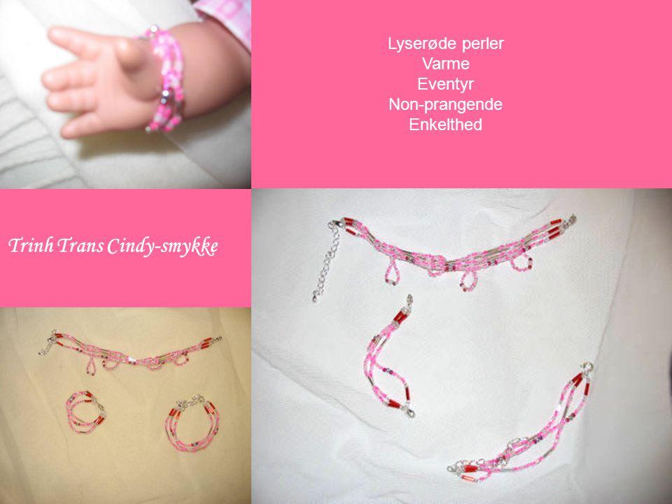 Cindy-smykke Lyserøde perler Varme Eventyr Non-prangende Enkelthed Trinh Trans Cindy-smykke
