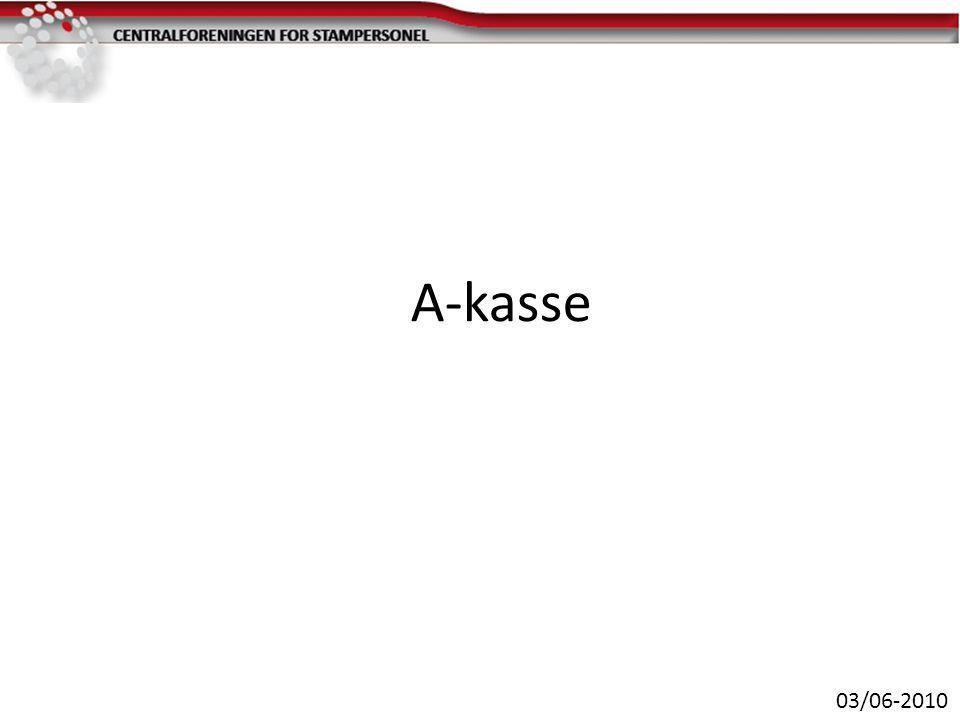 A-kasse 03/06-2010