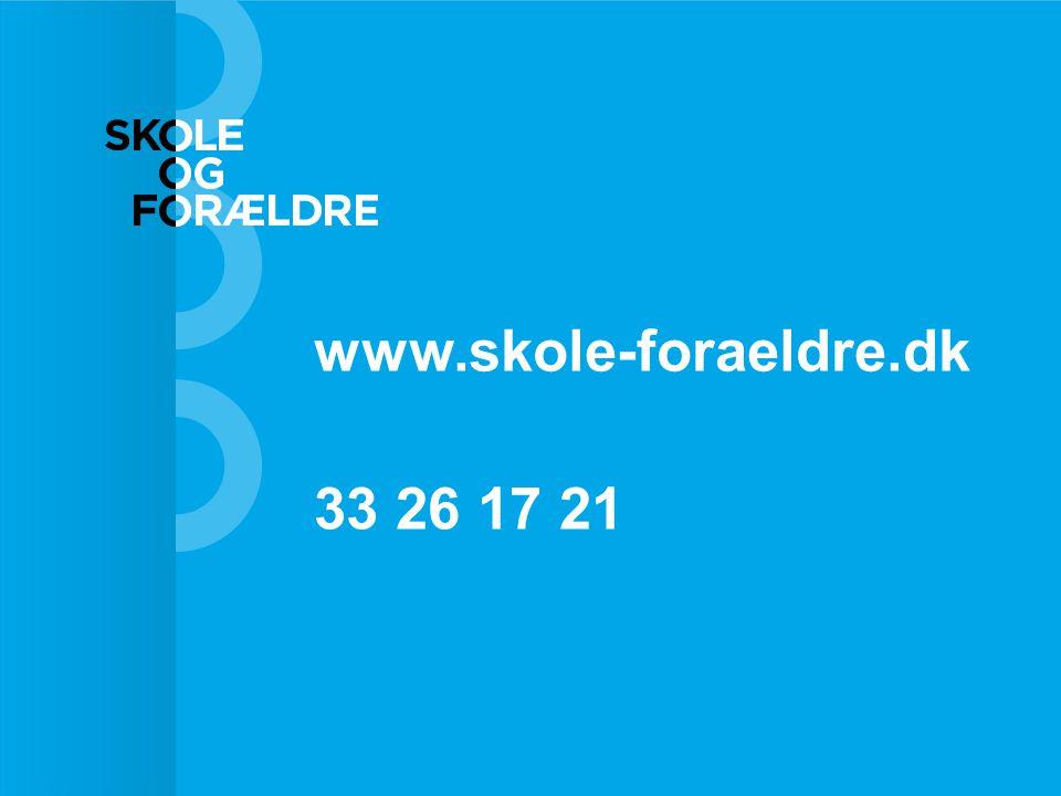 www.skole-foraeldre.dk 33 26 17 21