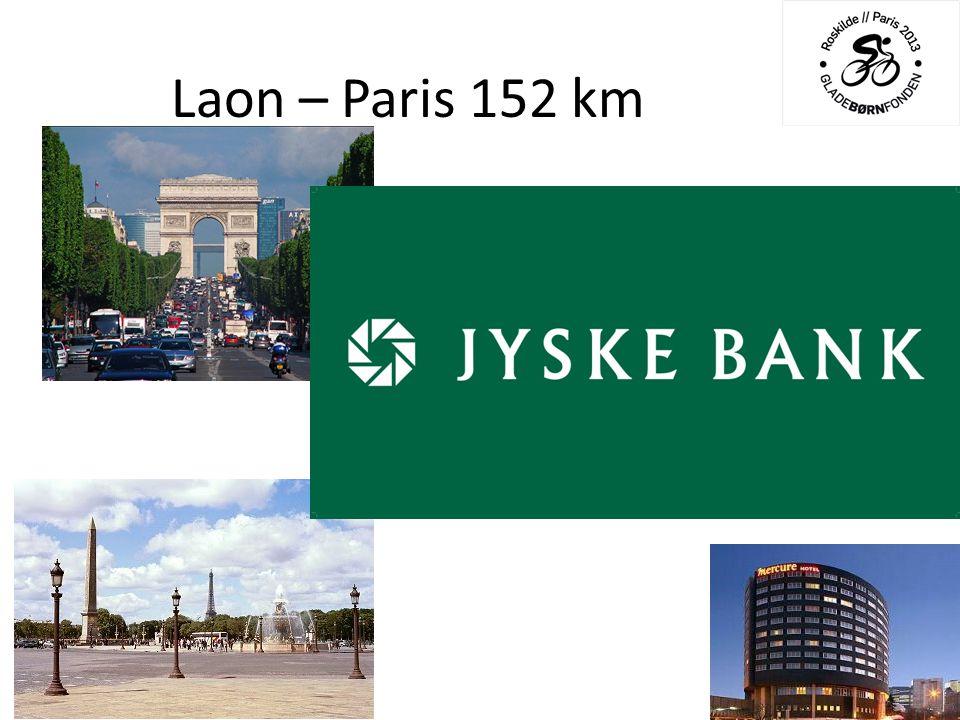 Laon – Paris 152 km