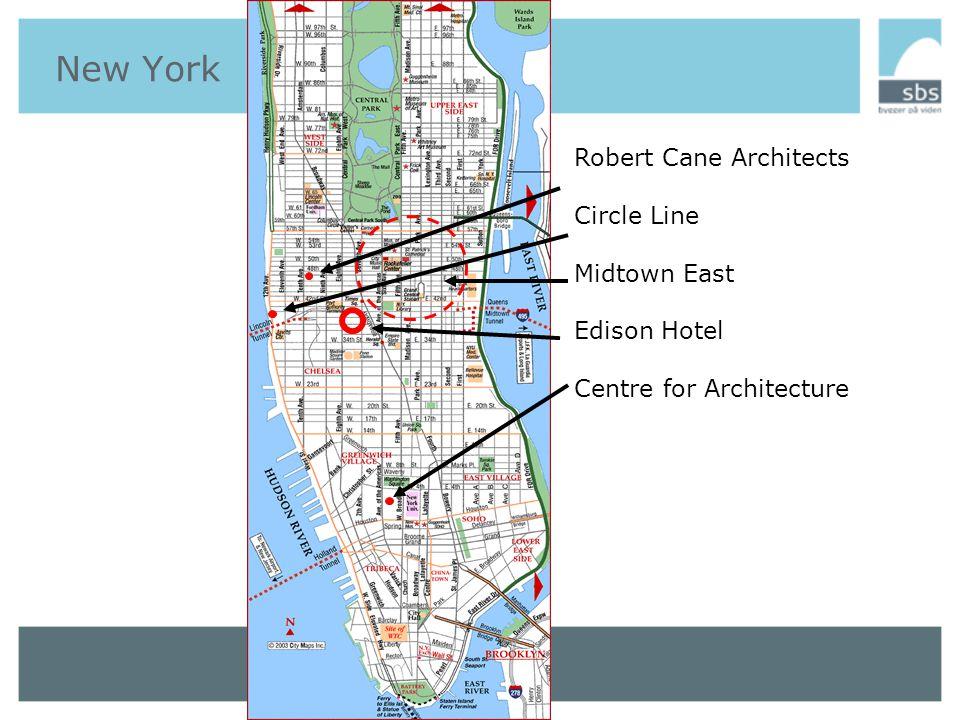 New York DAG 1 Onsdag den 21/9 Arrival and exploration of the city OM DET FAGLIGE •På egen hånd.