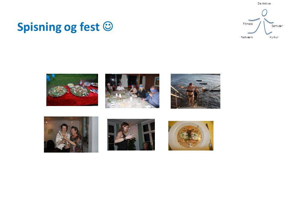 De Aktive Kultur Samvær Fitness Netværk Spisning og fest 