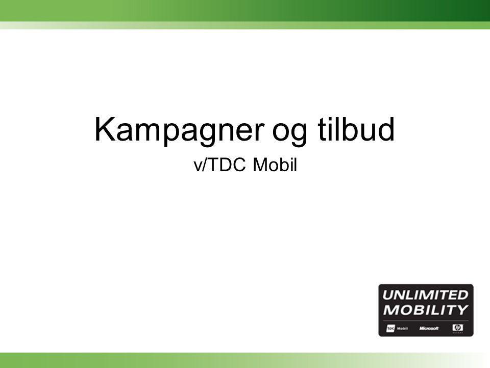 Kampagner og tilbud v/TDC Mobil