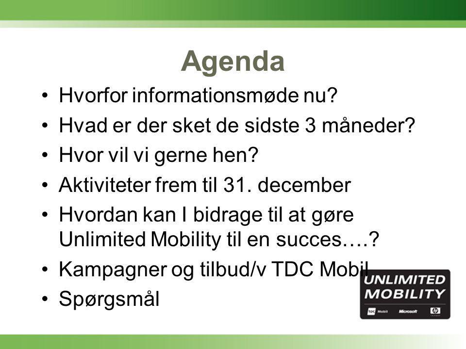 Agenda •Hvorfor informationsmøde nu. •Hvad er der sket de sidste 3 måneder.