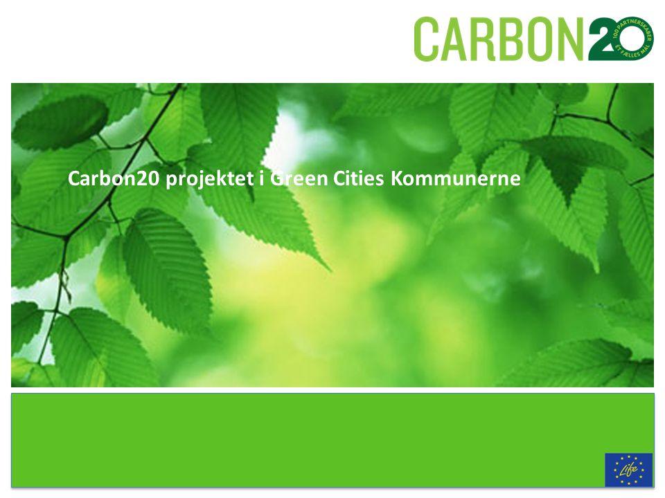 Carbon20 projektet i Green Cities Kommunerne