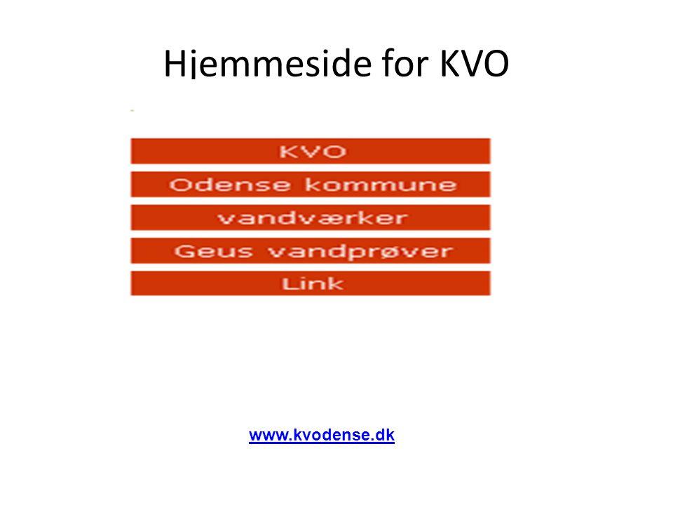 Hjemmeside for KVO www.kvodense.dk