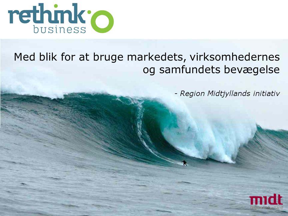 Med blik for at bruge markedets, virksomhedernes og samfundets bevægelse - Region Midtjyllands initiativ