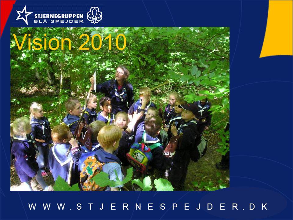 Vision 2010 W W W. S T J E R N E S P E J D E R. D K