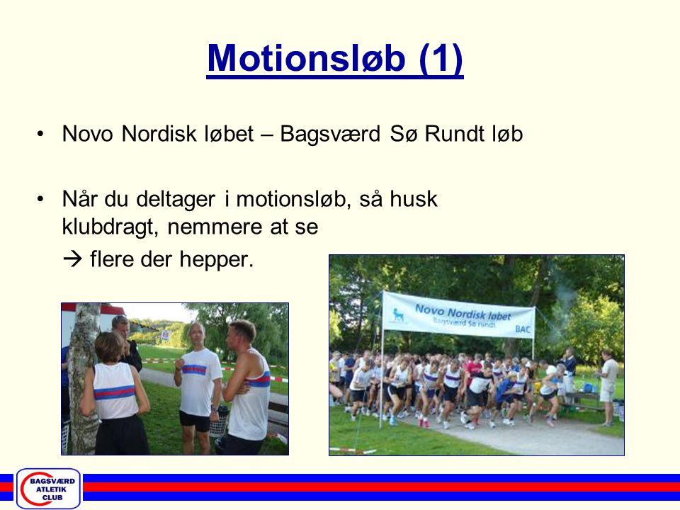 Løb og motionsaften, den 5.