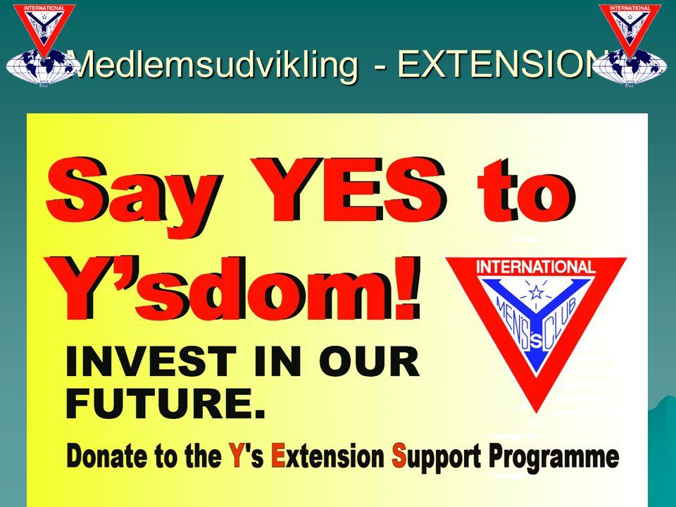 Medlemsudvikling - EXTENSION 11