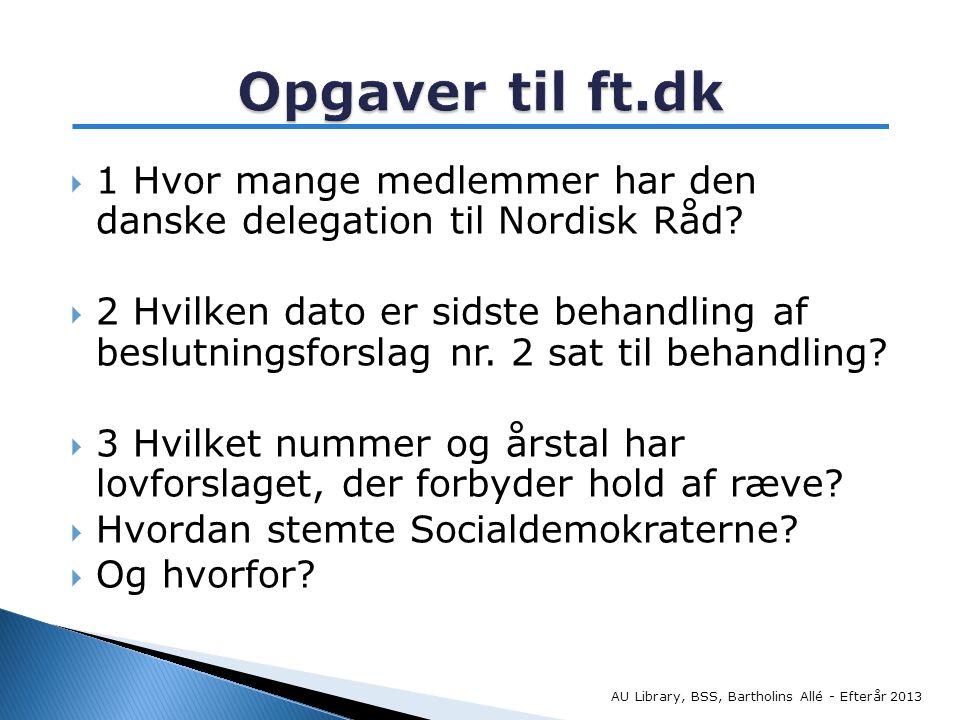  1 Hvor mange medlemmer har den danske delegation til Nordisk Råd.