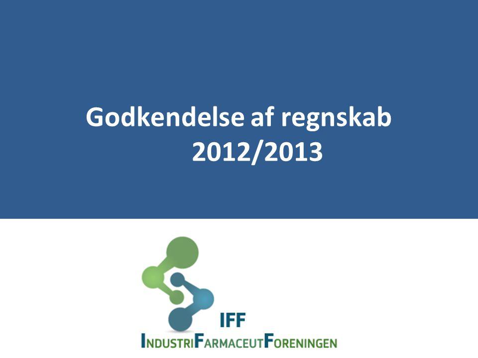 Godkendelse af regnskab 2012/2013