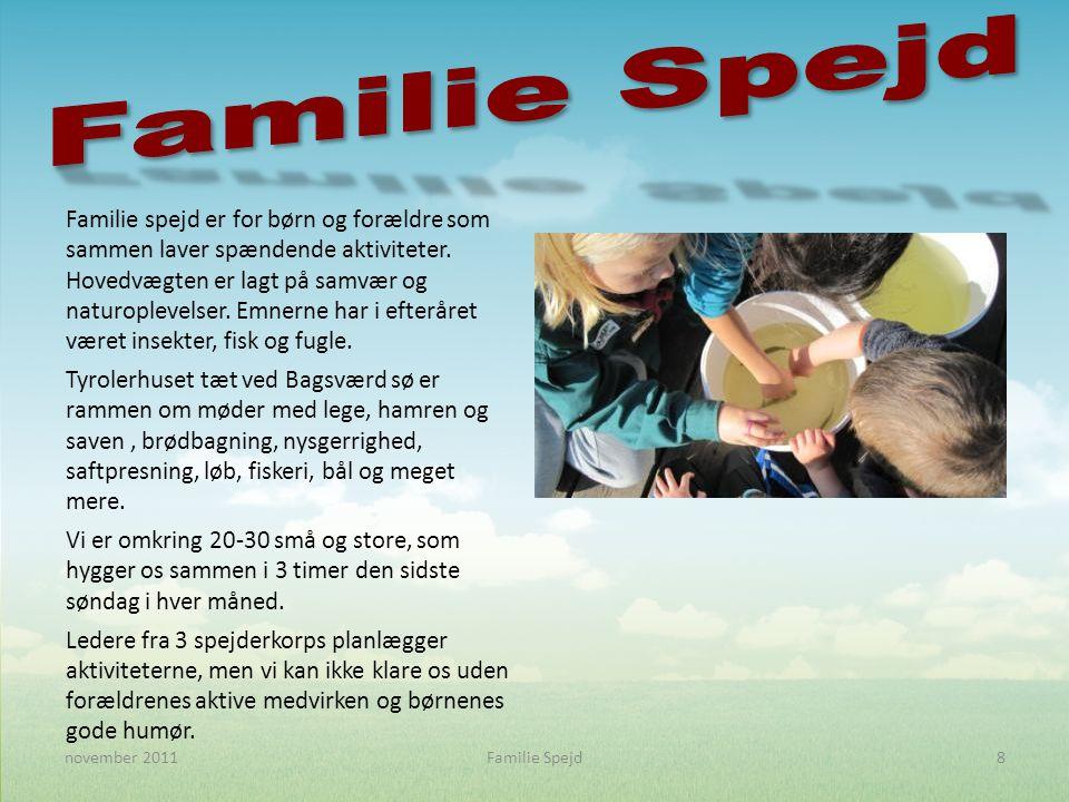 Familie spejd er for børn og forældre som sammen laver spændende aktiviteter.