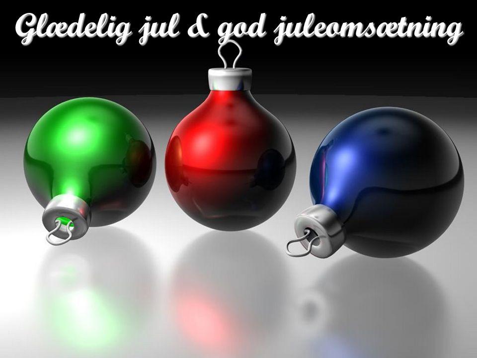 Glædelig jul & god juleomsætning
