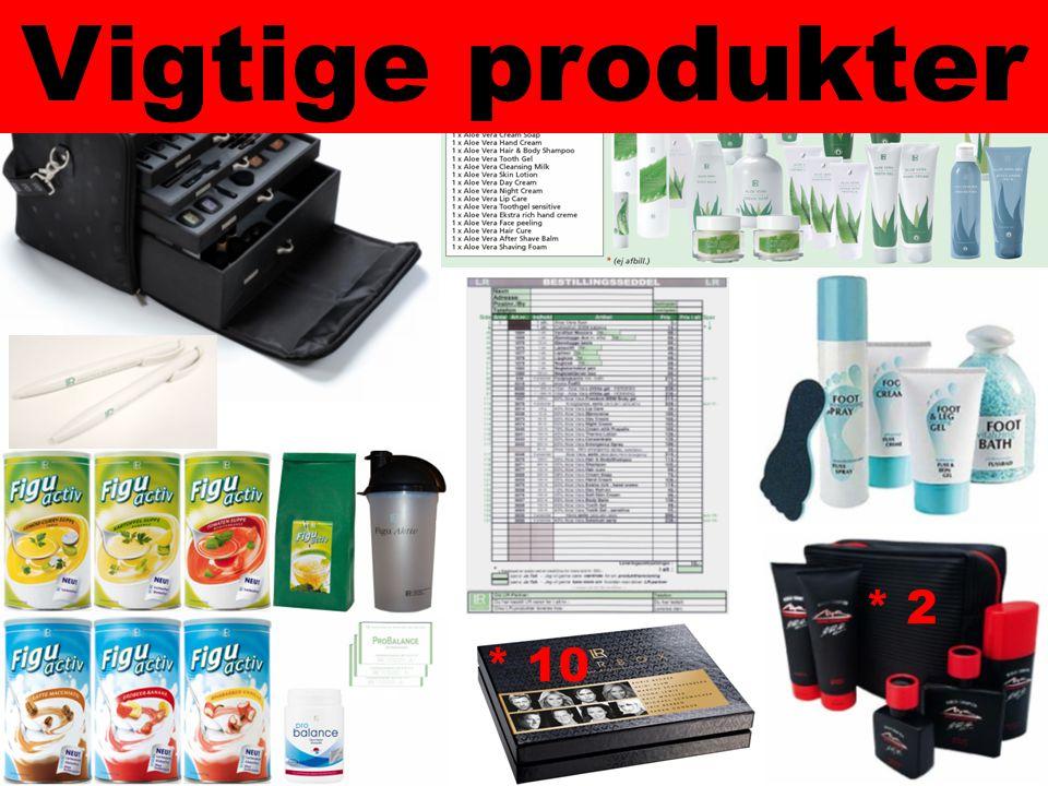 Vigtige produkter * 10 * 2