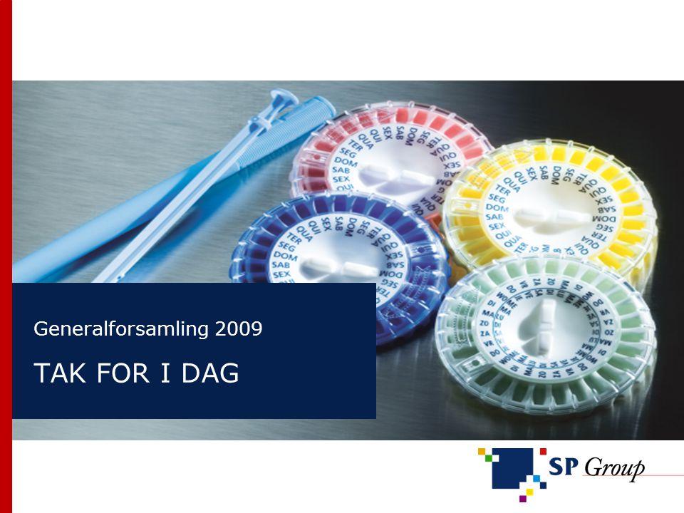 Generalforsamling 2009 TAK FOR I DAG