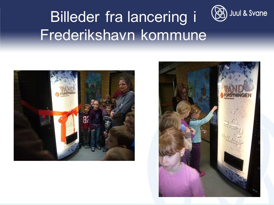 Billeder fra lancering i Frederikshavn kommune